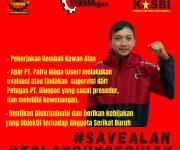 HENTIKAN DUGAAN PRAKTEK DISKRIMINATIF PADA ANGGOTA SERIKAT BURUH ! #SaveAlan